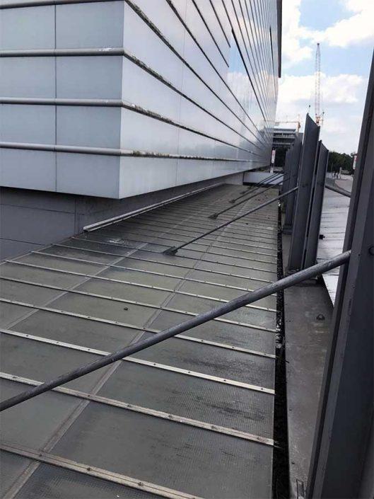 Alte Dachverglasung