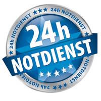24 Stunden Notdienst
