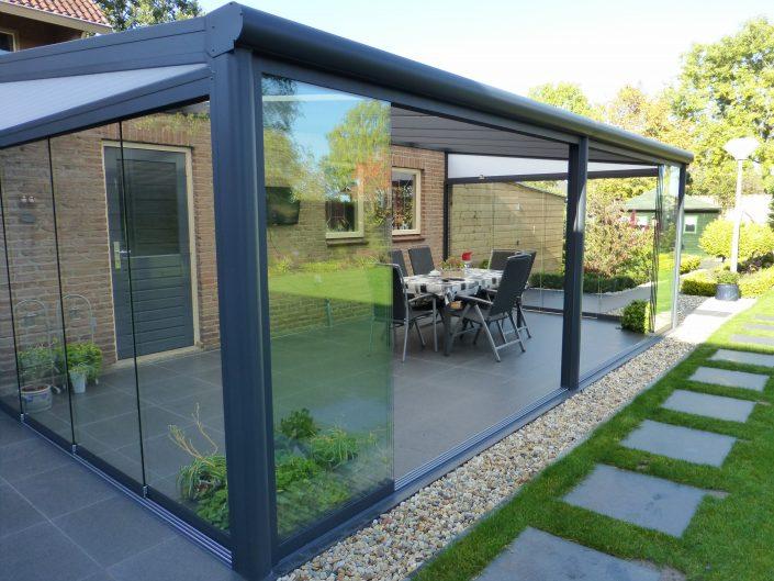 Terrassendach Deponti Glas