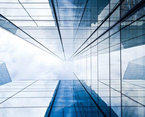 Fassadenverglasung Glas