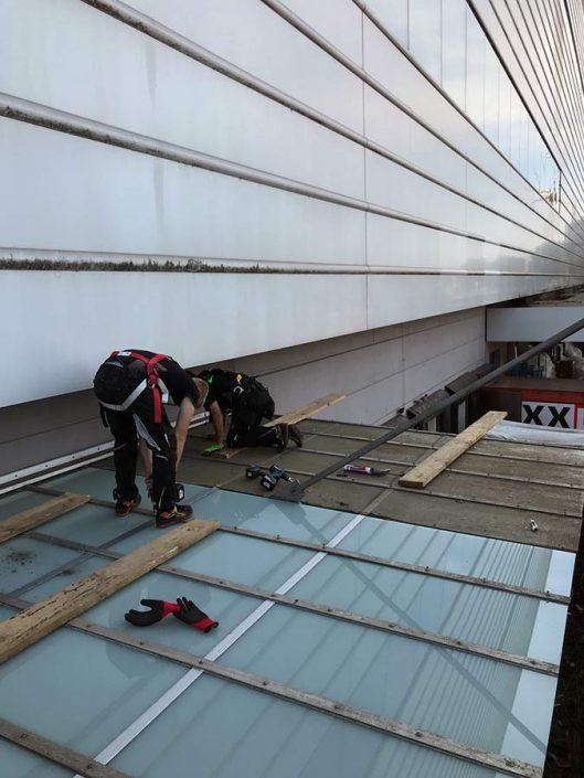 Dachverglasung Karlsruhe Montage