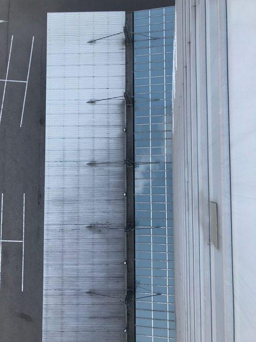 Dachverglasung Karlsruhe von oben